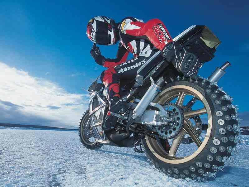 Motorcycle Ice Racing Tires