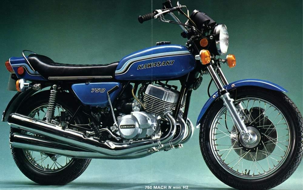 Kawasaki H2 750 72